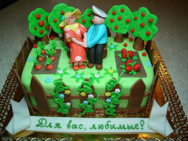 Торт дедушке на день рождения своими руками